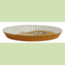 Форма для пирога с керамическим покрытием 28 х28 х 3.2 см