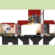 Подарочная упаковка для кружки Transformers 5 350 мл (красно-коричневый цвет)