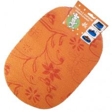 Набор ковриков универсальных 29*43 см-2 шт. оранж.