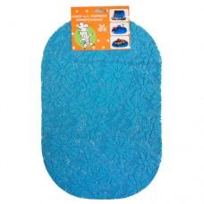 Набор ковриков универсальных 29*43 см-2 шт. голуб.
