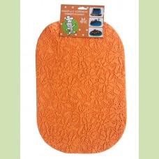 Набор ковриков универсальных 29*43 см-2 шт.оранж.